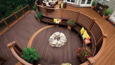 20 ý tưởng về thiết kế sàn gỗ ngoài trời